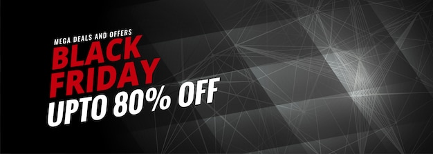 Black friday discount sale banner  template