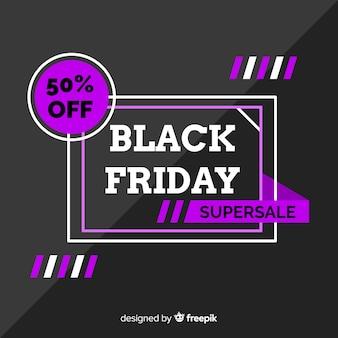 Black friday geometric shapes  background