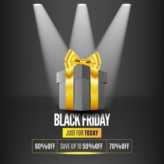 Black friday gift box sale