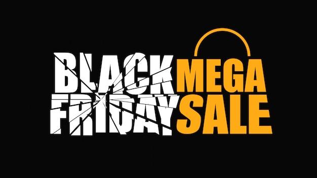 Black friday mega banner