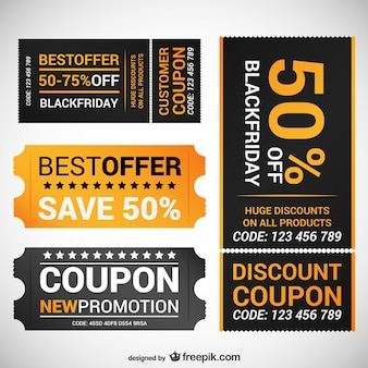 Black friday offer coupons