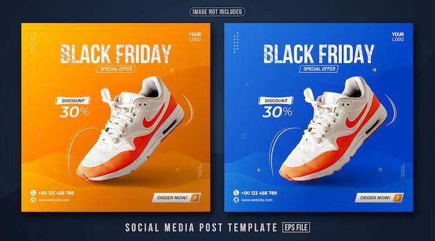 Black friday promotion 02 social media post