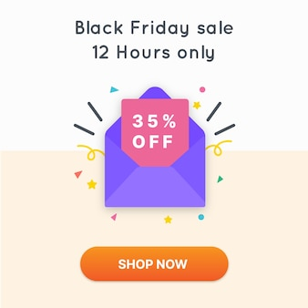 Black friday sale 12 hours only