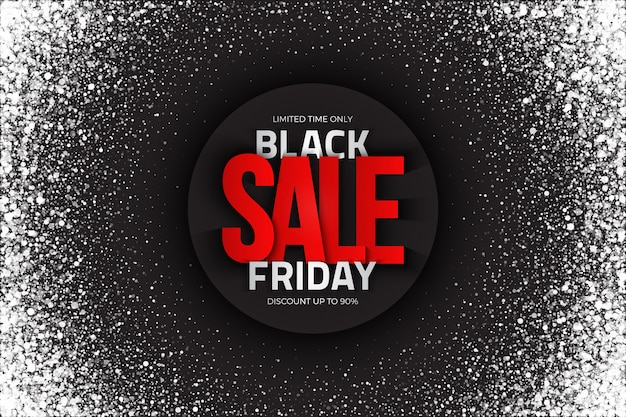 Black friday sale, abstract grunge background