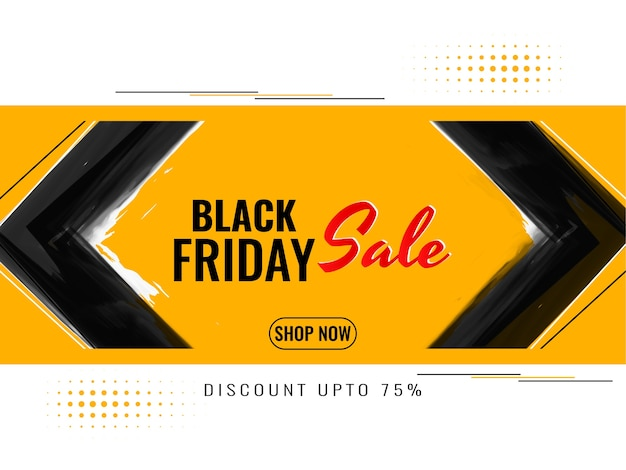 Black friday sale advertisement background