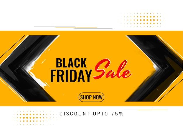 Sfondo di pubblicità vendita venerdì nero