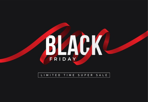 Black friday sale background. festive design