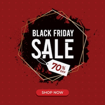 Black friday sale background template
