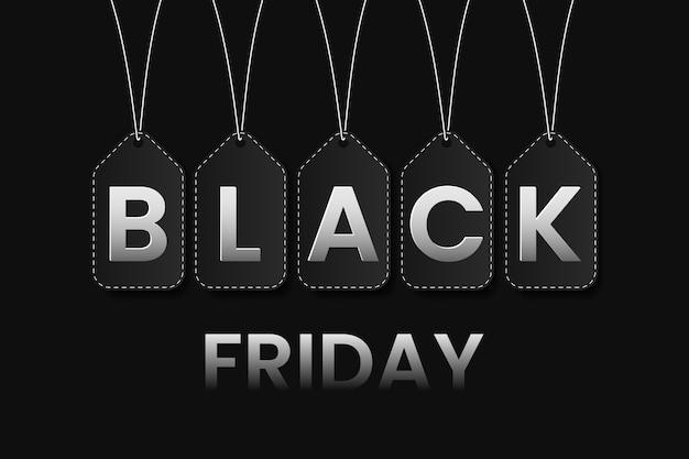 Черная пятница продажа баннер фон