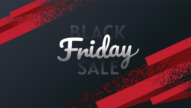 Black friday, sale, banner design template, gold & black color, abstract background, vector.