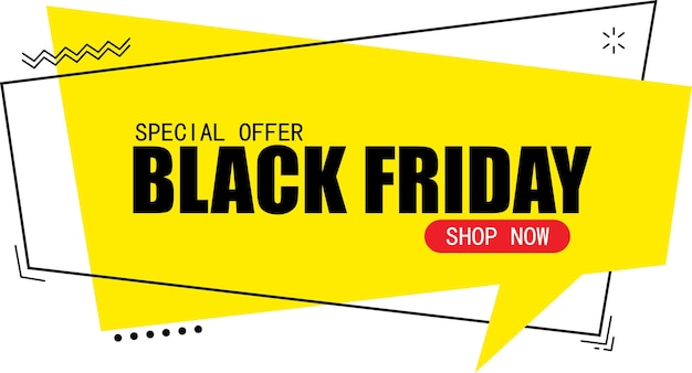 검은 금요일 판매 배너 디자인 서식 파일