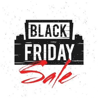 검은 금요일 판매, 배너 또는 전단지 디자인.