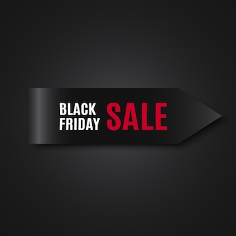 Black friday sale banner. tag.  .