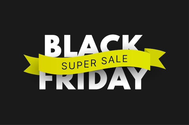Black friday sale banner vector sale background template for promotion advertising and social ads