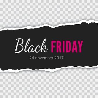 Черная пятница продажа баннер