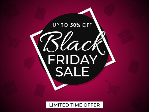 Black friday sale banner.