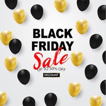 Black friday sale banner,