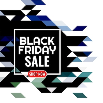 Black friday sale colorful mosaic background