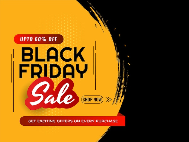 Black friday sale deals and offer modern background