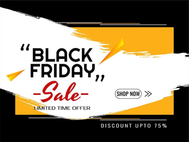 Black friday sale decorative modern background