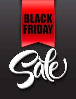Black friday sale design template. vector illustration eps 10