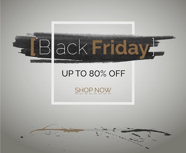 Black friday sale discount banner