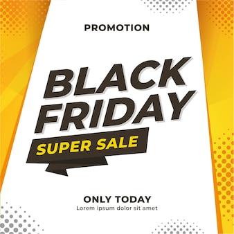 검은 금요일 판매 이벤트 소셜 미디어 콘텐츠 배너 디자인