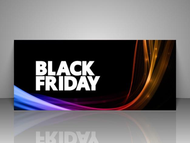 Black friday sale gift voucher.