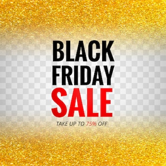 Black friday sale for glitters