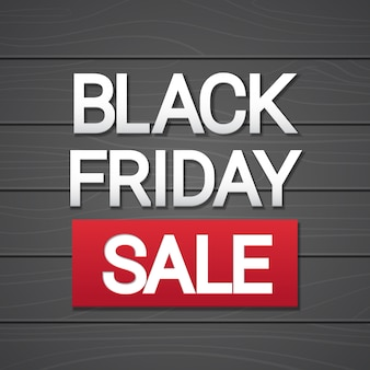 Black Friday Sale Holiday Shopping Banner Copy Space