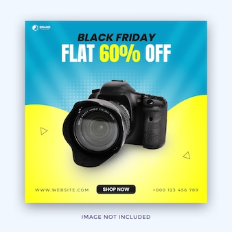 Black friday sale instagram post for gadget electronics and much more