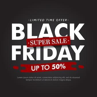 Black friday sale minimalist background