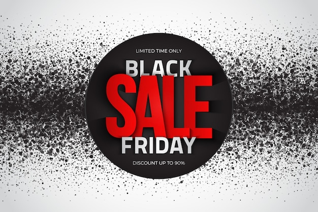 Black friday sale modern grunge abstract background