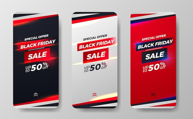 Black friday sale offer discount promotion for social media stories simple sporty man fashion minimalism concept