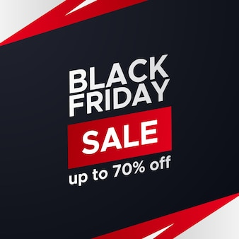 블랙 프라이데이 판매 프로모션 할인 포스터 배너 우아한 스포티 템플릿 제공