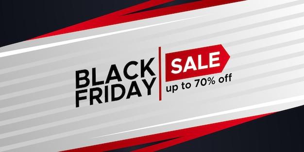 검은 금요일 판매 제안 프로모션 할인 포스터 배너 단순하고 우아한 템플릿
