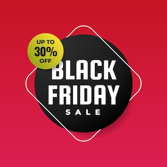 Black friday sale poster promotion background