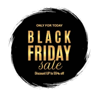 Black friday sale promotion banner