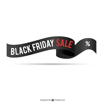 Venerdì nero vendita nastro