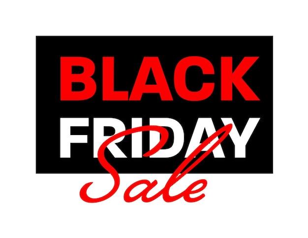Черная пятница распродажа шаблон дизайна наклейки для дешевых покупок