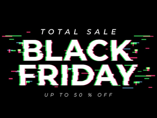 Black friday sale template.