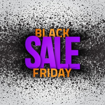 Black friday sale  text modern grunge abstract background