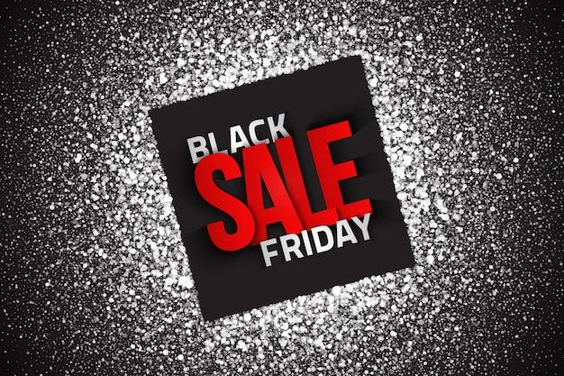 Черная пятница продажа типография абстрактный дизайн шаблона