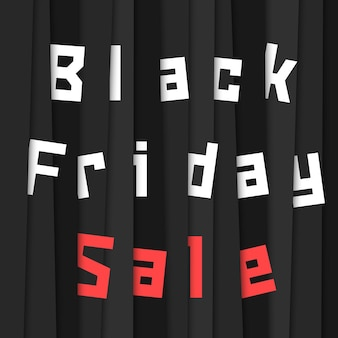 Black friday sale with stripes. concept of wholesale, commercial, promotional, sell-out, economy, advertising, ecommerce, bargain sale, hot deal. flat style trend modern design vector illustration