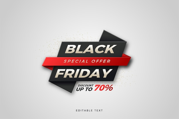 Black friday sale   with white writing on a black board.
