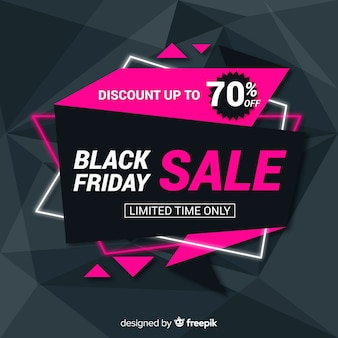 Black friday sales background template