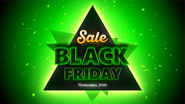 검은 금요일 판매 배너 템플릿, 특별 행사