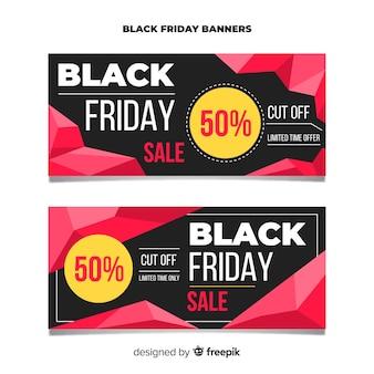 Black friday sales banner templates