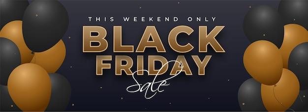 Black friday sales design concept