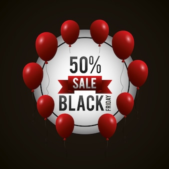 Black friday shopping sales background